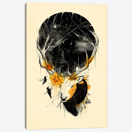 Once Upon a Time Canvas Print #NID112} by Nicebleed Canvas Art Print