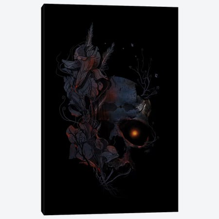 Deathblooms Canvas Print #NID114} by Nicebleed Canvas Artwork