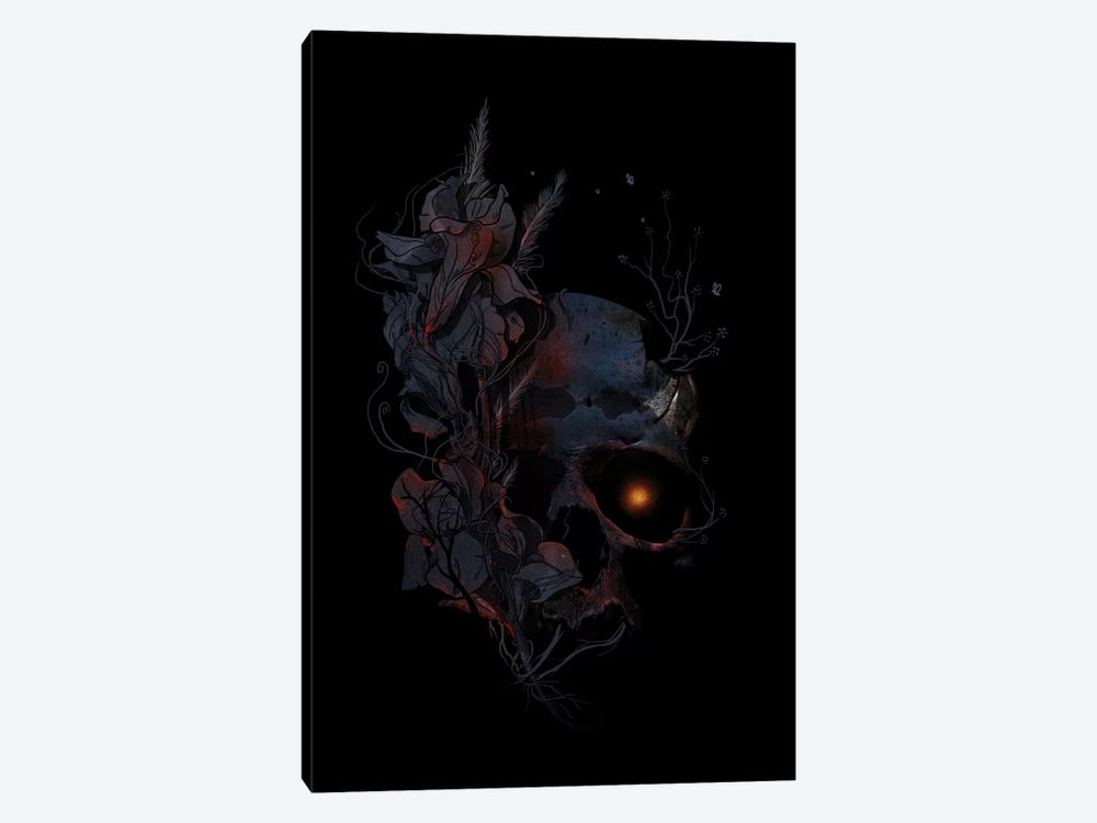 Deathblooms by Nicebleed 1-piece Canvas Art