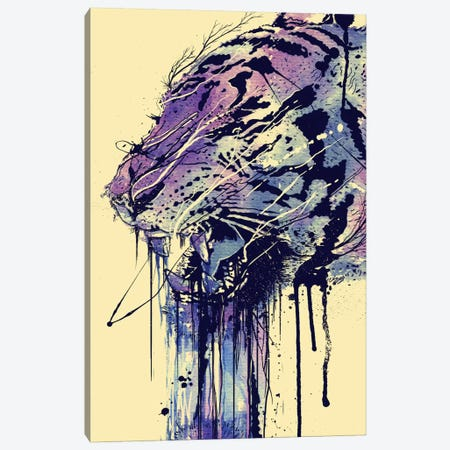 Fearless Canvas Print #NID118} by Nicebleed Canvas Art Print
