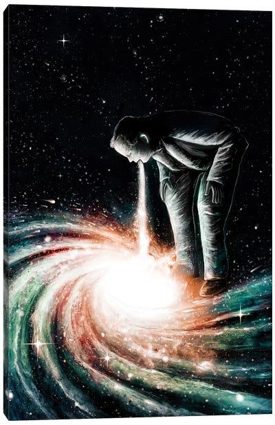 Cosmic Vomit Canvas Print #NID11
