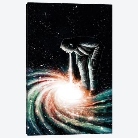 Cosmic Vomit Canvas Print #NID11} by Nicebleed Art Print