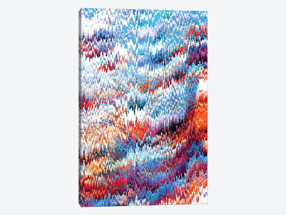 Forest Pixel 1-piece Canvas Art Print