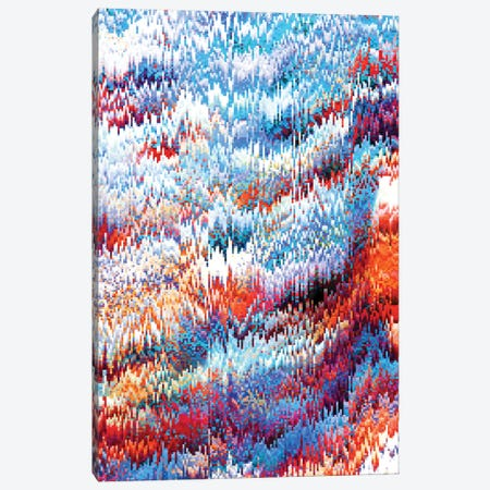 Forest Pixel Canvas Print #NID120} by Nicebleed Canvas Wall Art