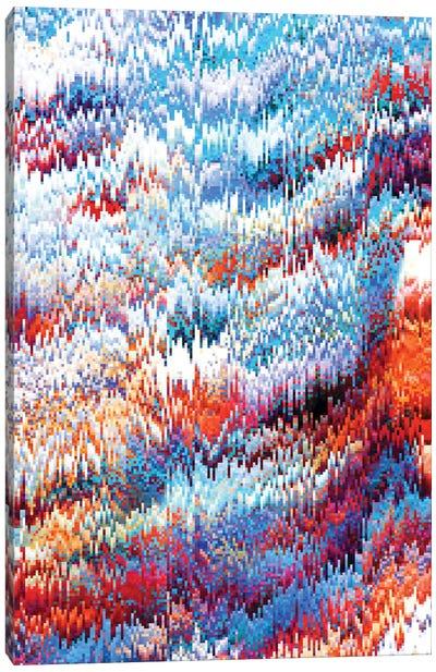 Forest Pixel Canvas Art Print