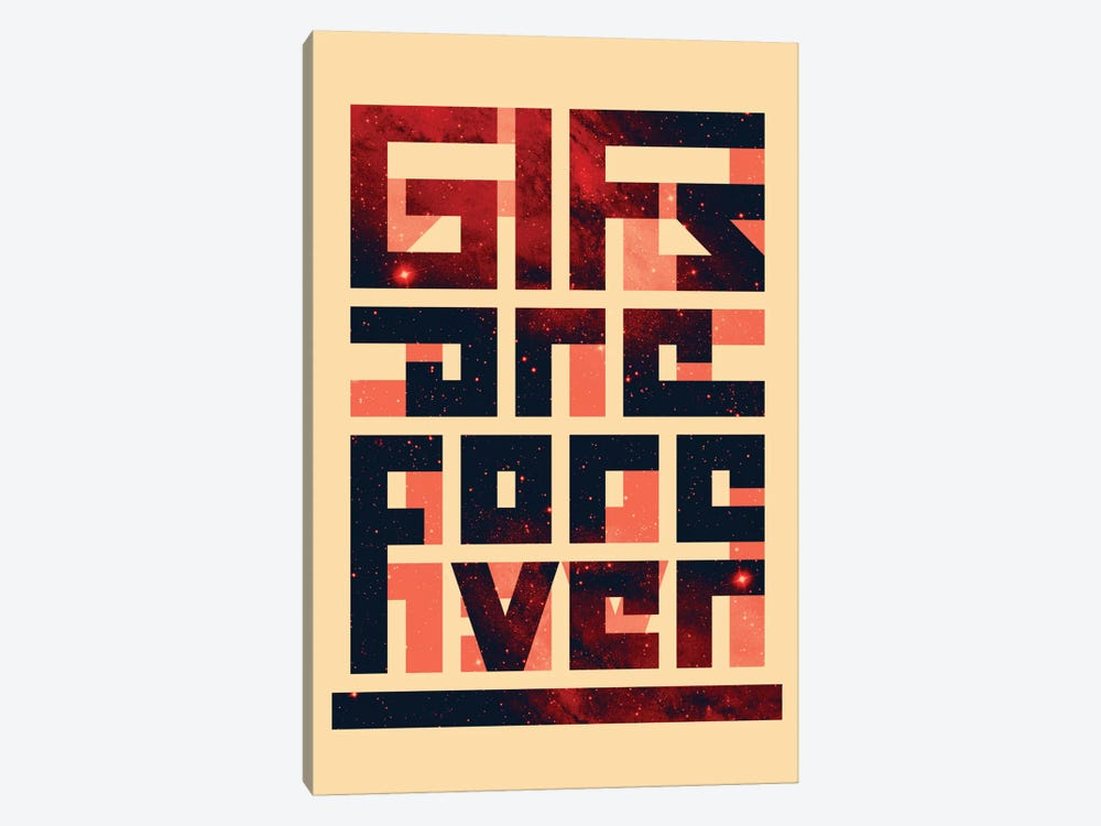 GIFs Are Forever by Nicebleed 1-piece Art Print