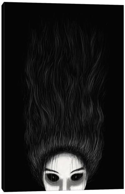 Haunted Canvas Art Print