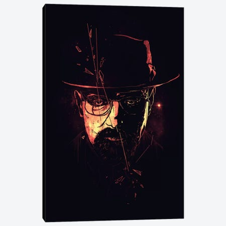 Heisenberg Canvas Print #NID126} by Nicebleed Art Print