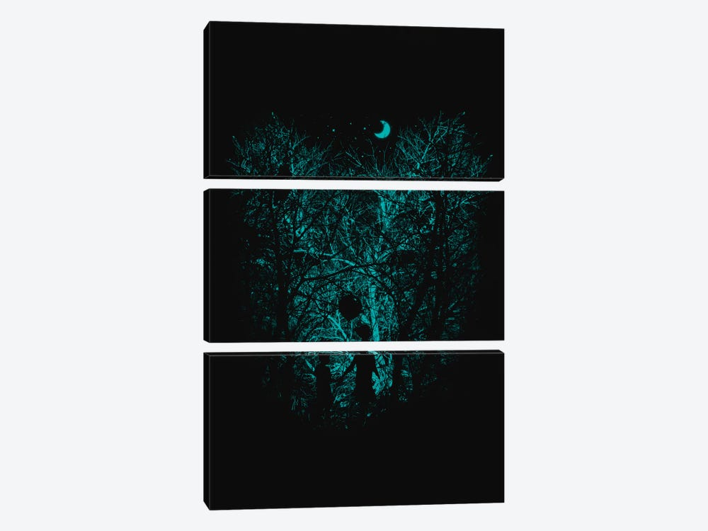 Into The Woods by Nicebleed 3-piece Canvas Artwork