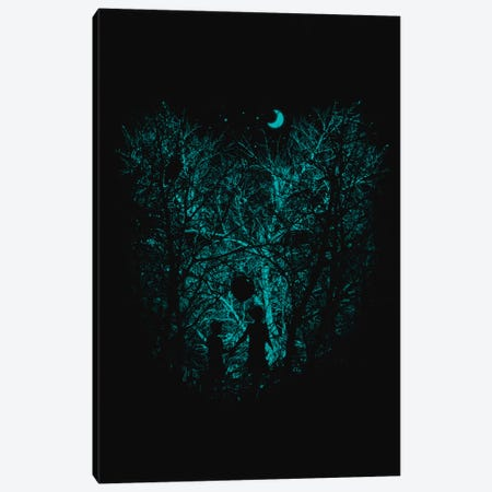 Into The Woods Canvas Print #NID130} by Nicebleed Art Print