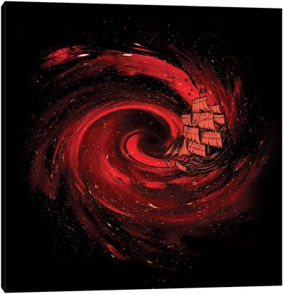 Journey To The Edge Of The Universe Canvas Print #NID132