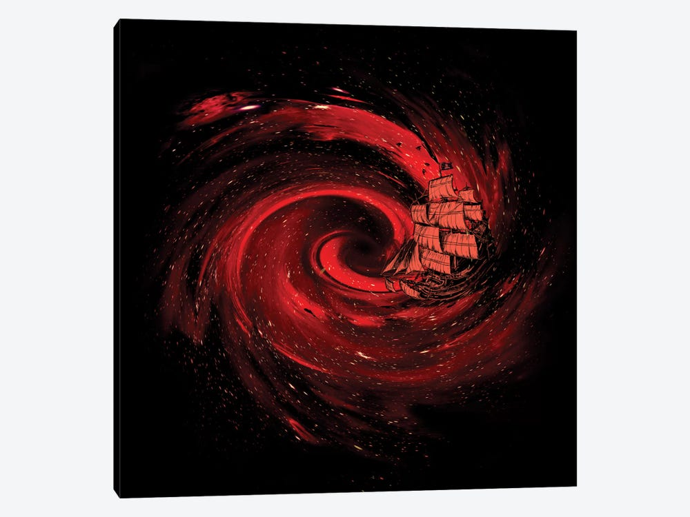 Journey To The Edge Of The Universe by Nicebleed 1-piece Canvas Wall Art
