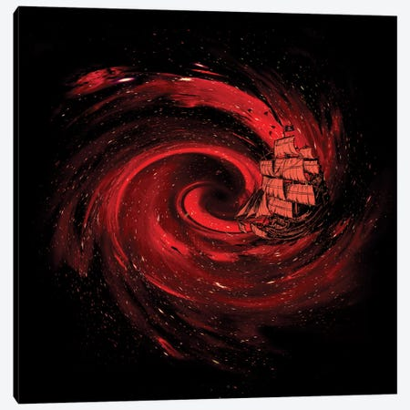 Journey To The Edge Of The Universe Canvas Print #NID132} by Nicebleed Canvas Print