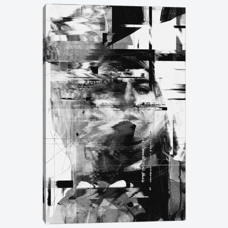 Kurt Cobain Canvas Print #NID133} by Nicebleed Canvas Art Print