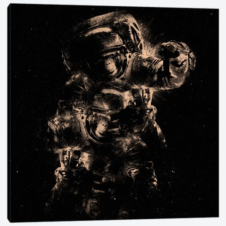 Lost In Space Canvas Print #NID134} by Nicebleed Canvas Wall Art