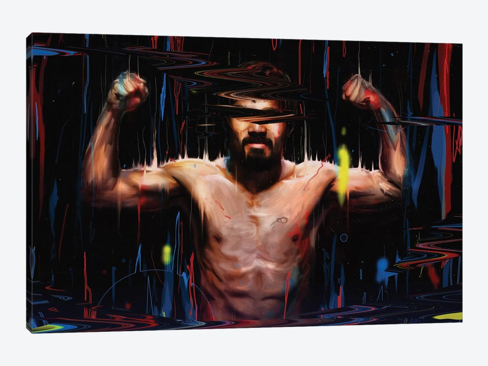 Manny Pacquiao by Nicebleed 1-piece Canvas Wall Art