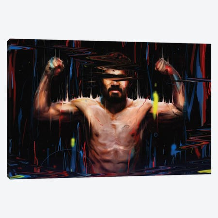 Manny Pacquiao Canvas Print #NID136} by Nicebleed Canvas Art