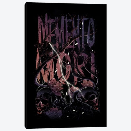 Memento Mori Canvas Print #NID138} by Nicebleed Canvas Print