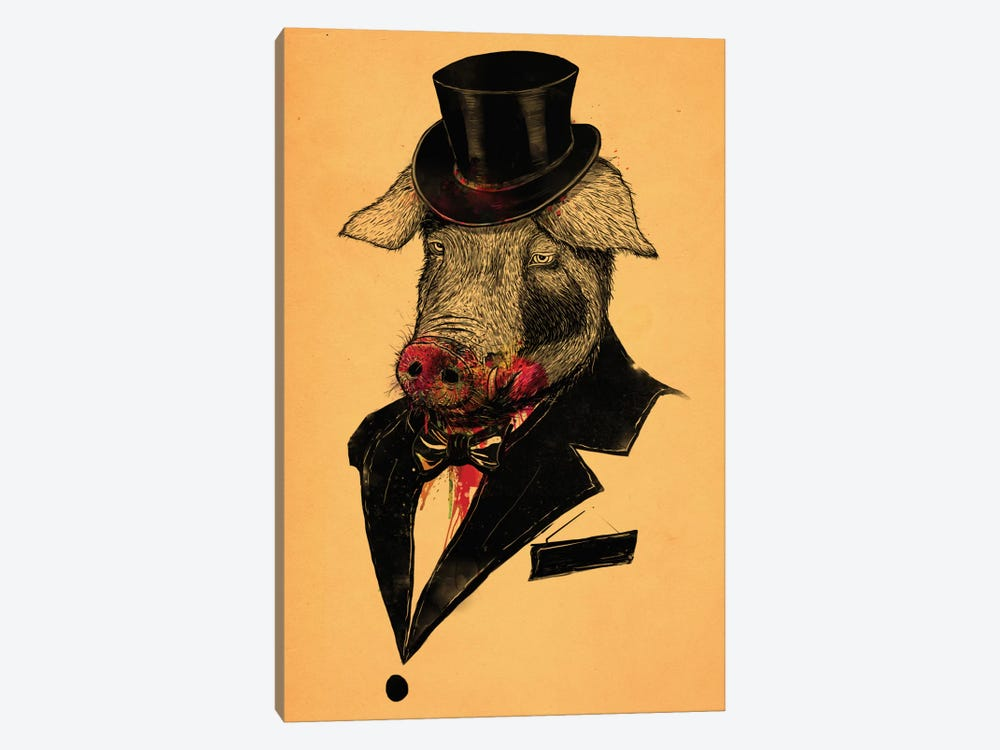 Mr. Pig by Nicebleed 1-piece Art Print