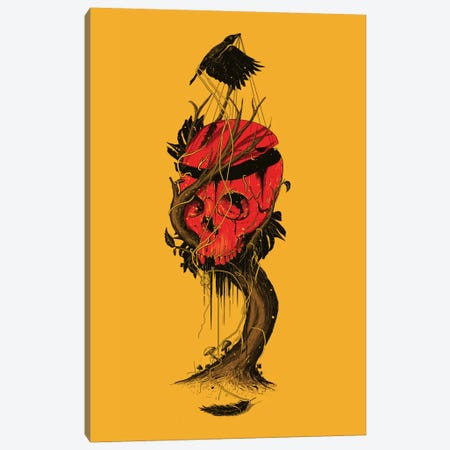 Nameless Hero Canvas Print #NID141} by Nicebleed Canvas Wall Art