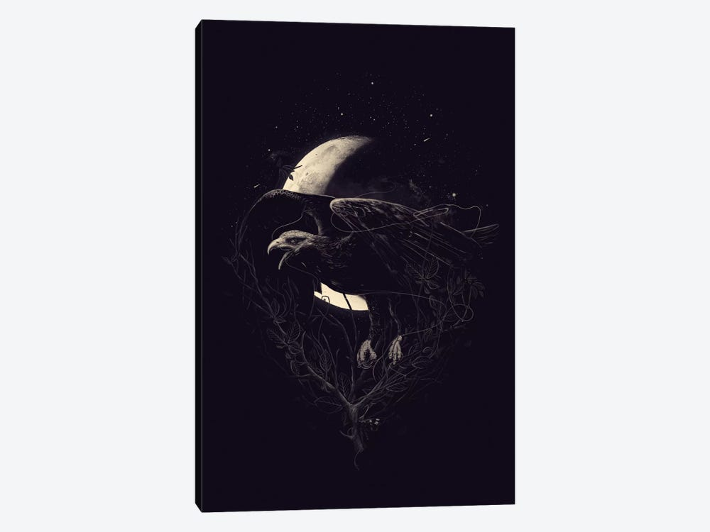 Night Flight by Nicebleed 1-piece Canvas Art Print