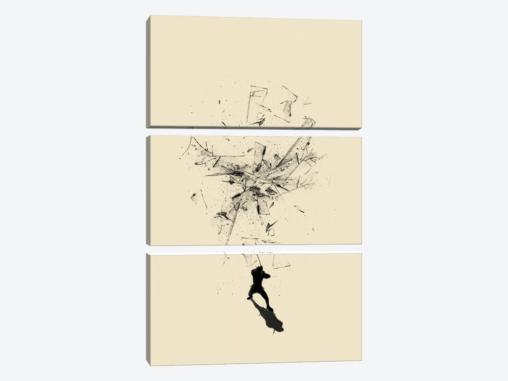 Ninja Moves by Nicebleed 3-piece Canvas Art