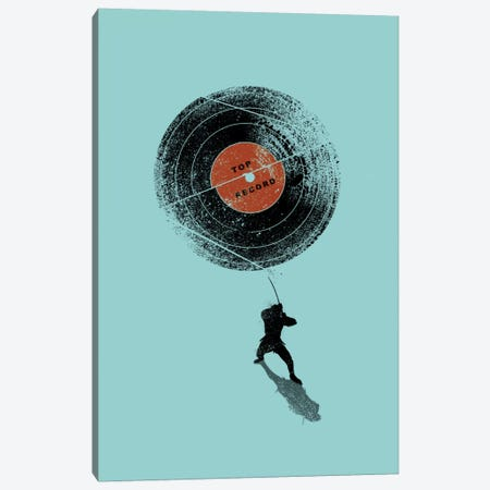 Record Breaker Canvas Print #NID146} by Nicebleed Canvas Art Print