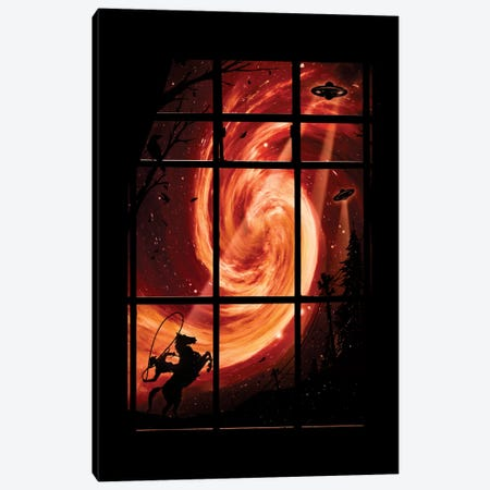 The Encounter Canvas Print #NID152} by Nicebleed Canvas Art Print