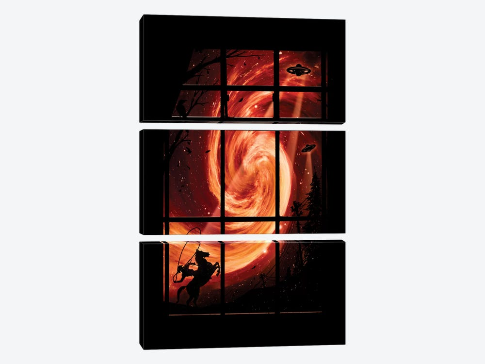 The Encounter by Nicebleed 3-piece Canvas Wall Art