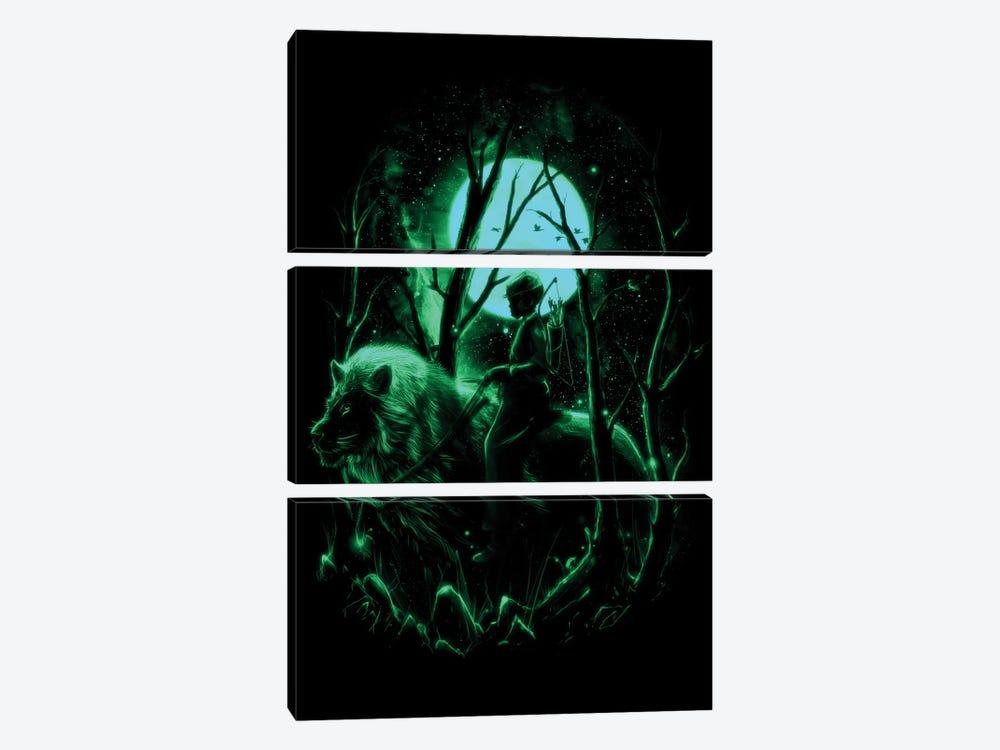 The Hunter II by Nicebleed 3-piece Canvas Print