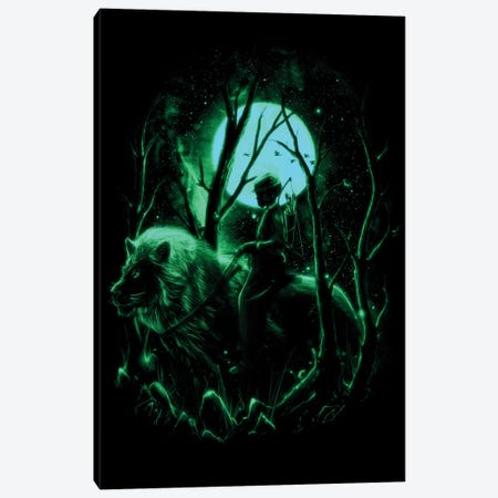The Hunter II Canvas Print #NID153} by Nicebleed Art Print