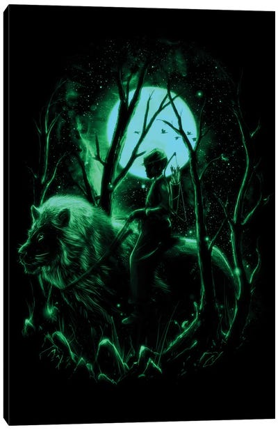 The Hunter II Canvas Art Print