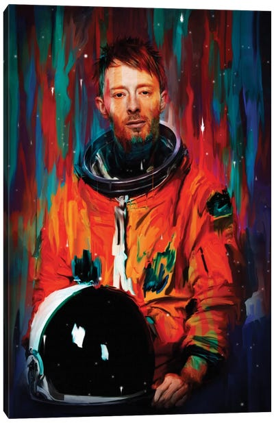 Thom Yorke Canvas Art Print