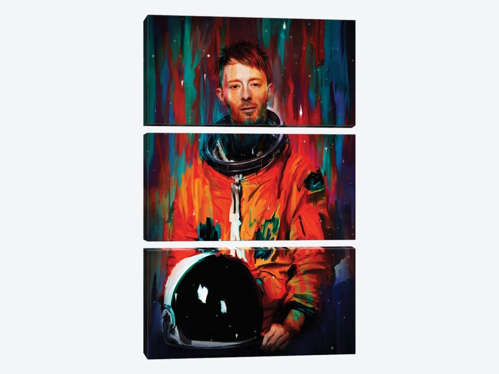 Thom Yorke by Nicebleed 3-piece Canvas Art