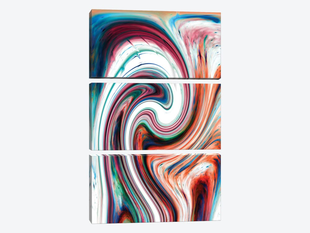 Twisted Soul by Nicebleed 3-piece Canvas Wall Art