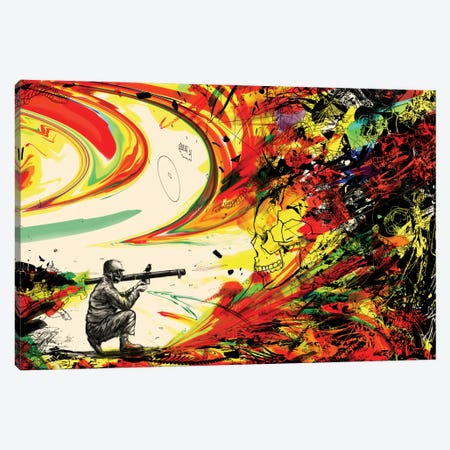 Bazooka Overload Canvas Print #NID164} by Nicebleed Art Print