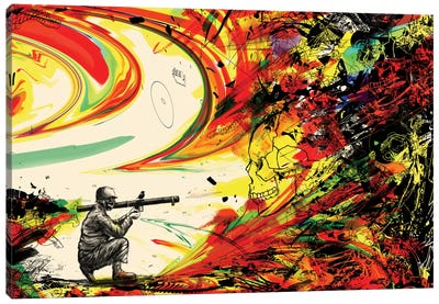 Bazooka Overload Canvas Art Print