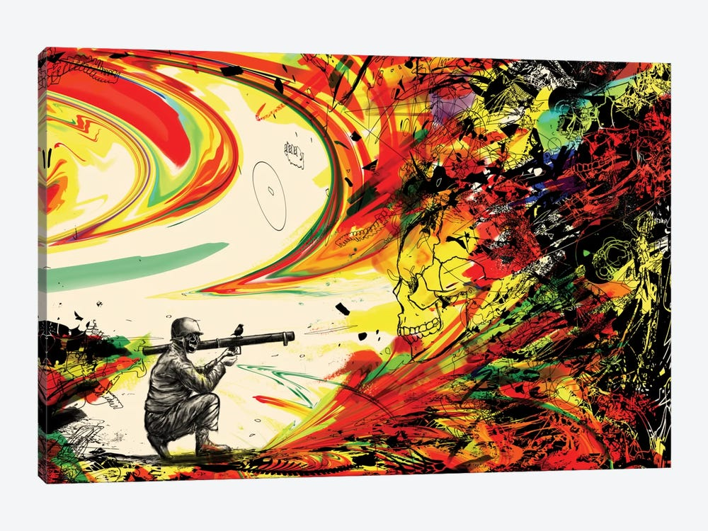 Bazooka Overload by Nicebleed 1-piece Canvas Print