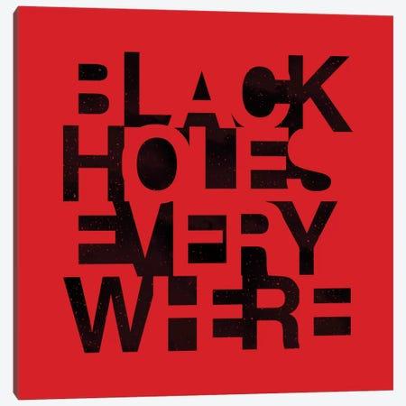 Black Holes Canvas Print #NID166} by Nicebleed Canvas Print