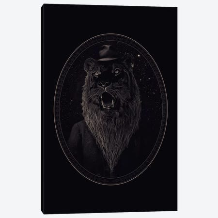 Call Of The Wild Night Canvas Print #NID169} by Nicebleed Canvas Wall Art