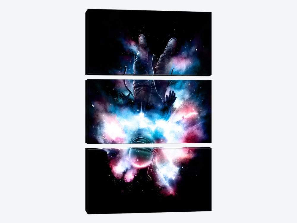 Drop by Nicebleed 3-piece Canvas Artwork