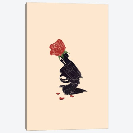 Cease Fire Canvas Print #NID170} by Nicebleed Art Print