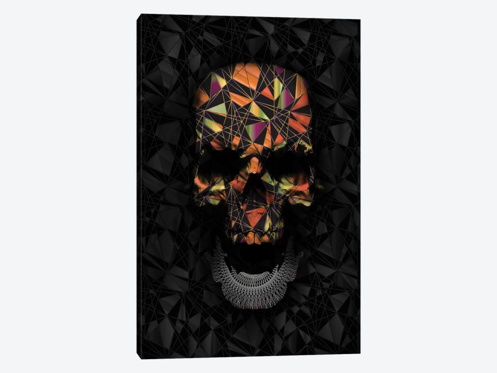 Colorful Geometric Skull by Nicebleed 1-piece Canvas Wall Art