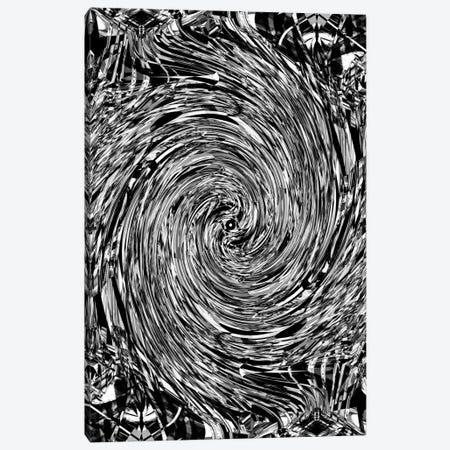 Geometric Spin Canvas Print #NID177} by Nicebleed Canvas Wall Art