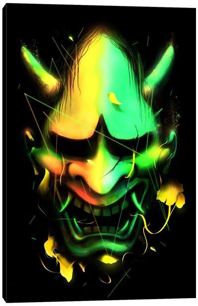 Hannya Mask Canvas Art Print