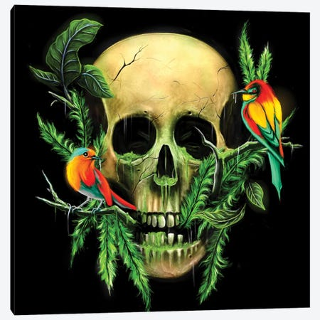 Life And Death I Canvas Print #NID179} by Nicebleed Canvas Art Print