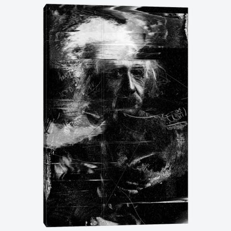 Einstein Canvas Print #NID17} by Nicebleed Canvas Art