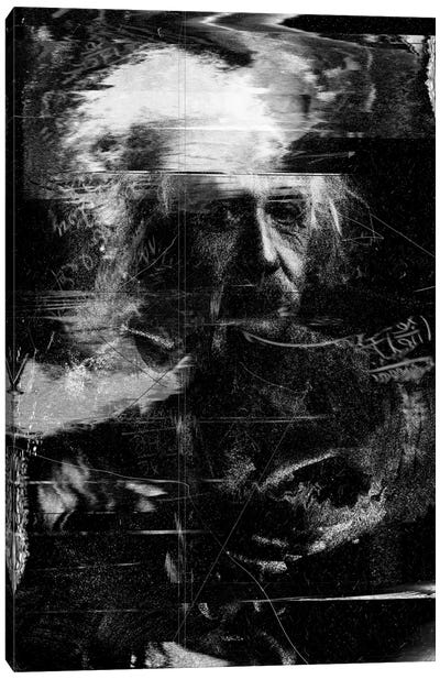 Einstein Canvas Art Print