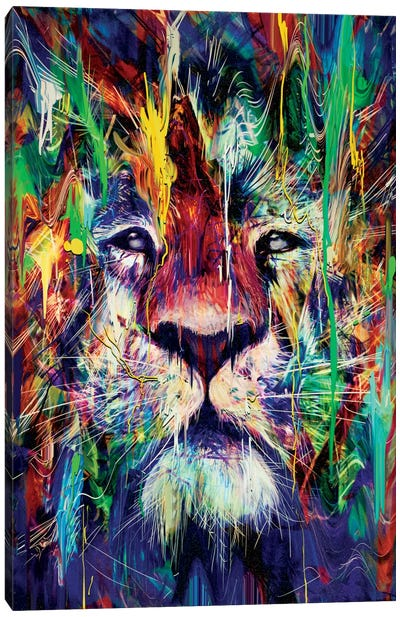 Lion I Canvas Art Print