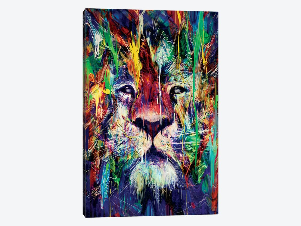 Lion by Nicebleed 1-piece Canvas Art Print